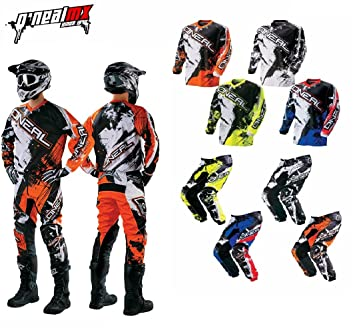 Adultos mono Motocross Oneal Element Shocker nuevo traje ...