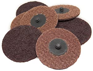"3"" Roloc Surface Conditioning Quick Change Sanding Discs Medium - 25 Pack"