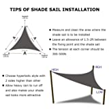 Shade&Beyond 16' x 16' x 16' Sand Color Triangle