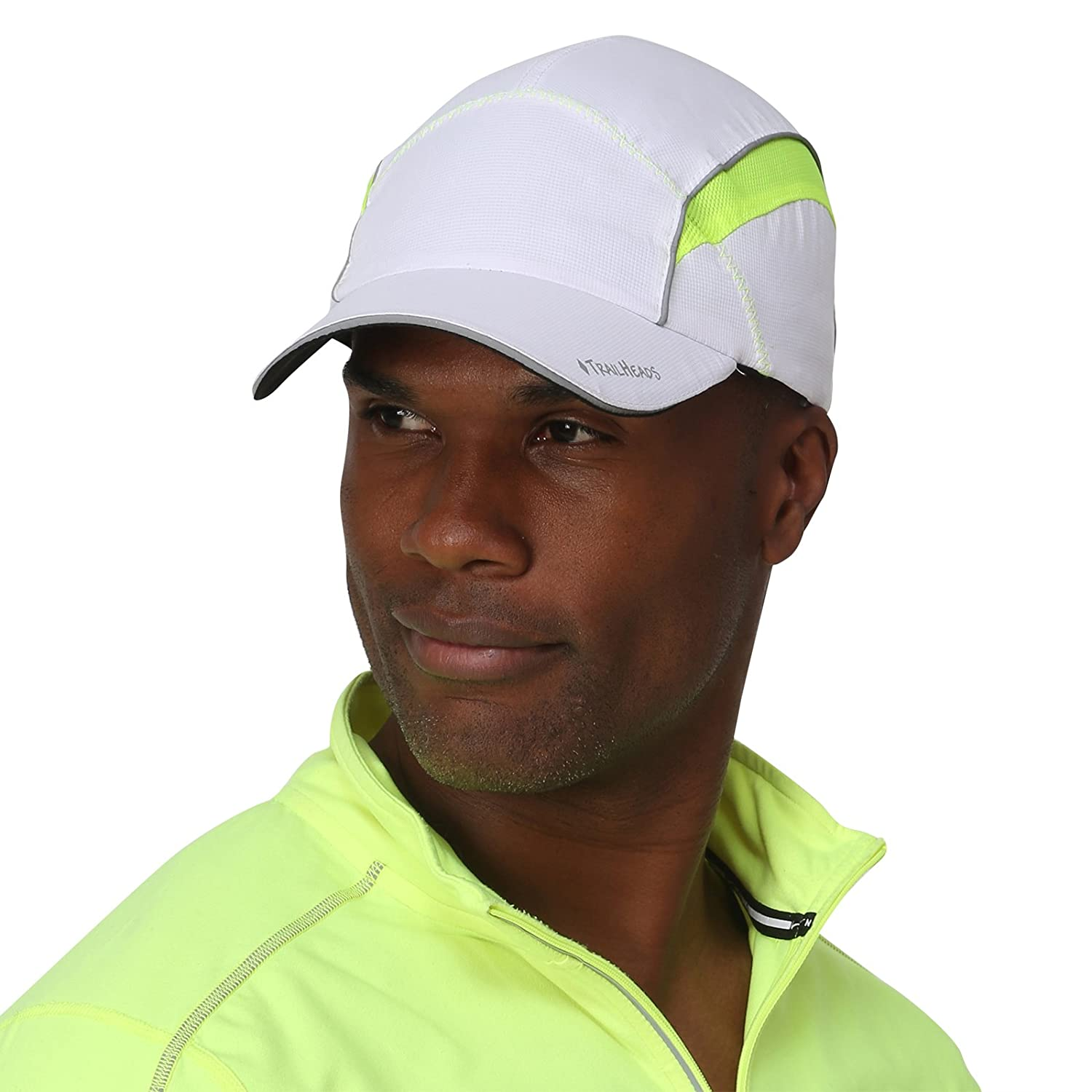 TrailHeads Reflective Running Cap with Sun Protection | Hi Vis Hat | The Daybreak