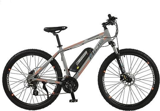 Bicicleta de montaña Switch Ride para hombre, color gris mate, marco de aluminio de 45,7 cm, 24 velocidades y desviador trasero Shimano, 250 W, motor de cubo: Amazon.es: Deportes y aire libre