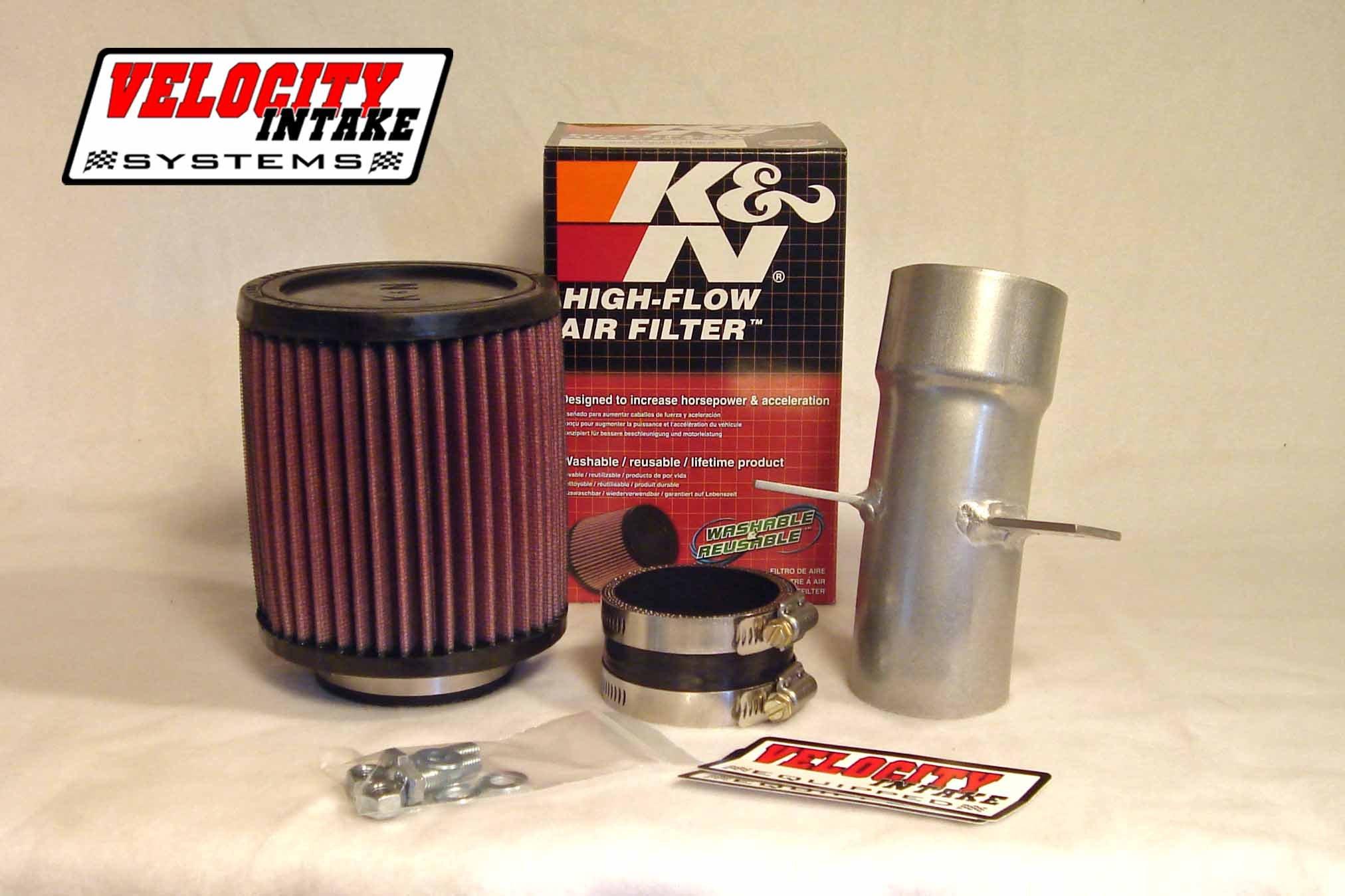 Malone Motorsports VelI-R350-1 Raptor 350 Velocity Intake System with K&N Filter by Velocity Intake Systems