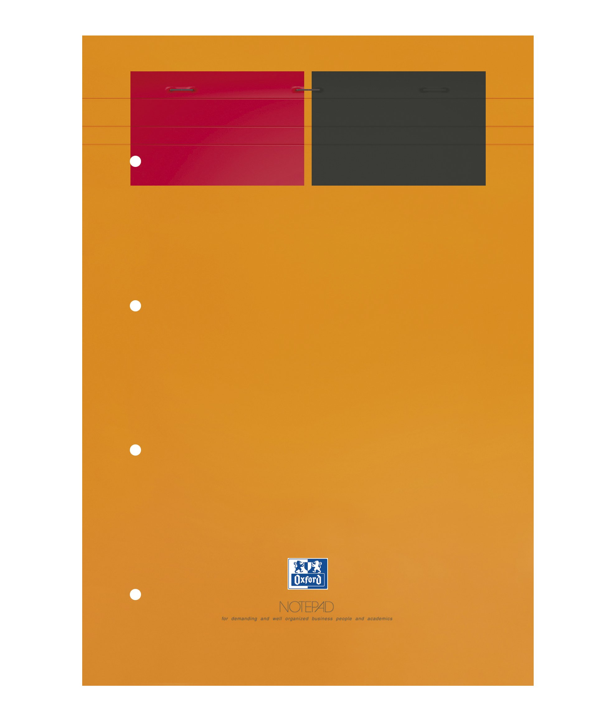Oxford International-Pack of 5Notepads Soft Top, A4