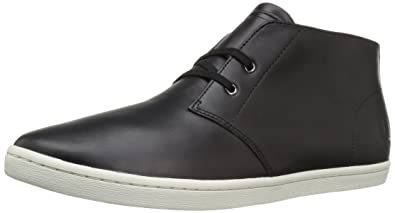 62572fd8068 Fred Perry Men s Byron Mid Leather Chukka Boot