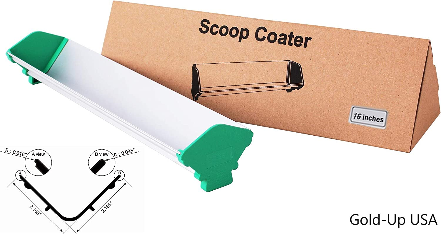 "19/"" Dual Edge Emulsion Scoop Coater for Screen Printing FREE Shipping"