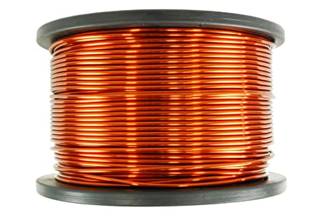Amazon temco 10 awg copper magnet wire 10 lb 315 ft 200c temco 10 awg copper magnet wire 10 lb 315 ft 200c magnetic coil keyboard keysfo Gallery