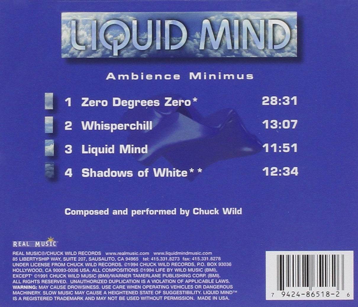 LIQUID MIND - Ambience Minimus - Amazon.com Music