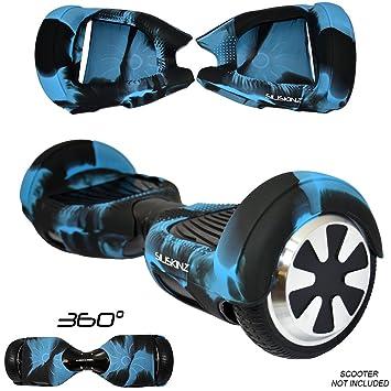SILISKINZ® - Funda Protectora de Silicona de 360 Grados para Patinete de Equilibrio automático de 6,5