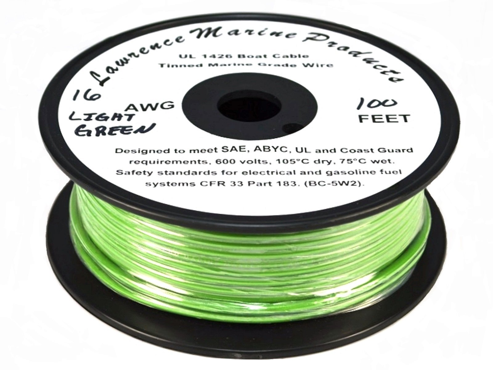 Best Rated In Boat Electric Wire Helpful Customer Reviews House Wiring Gauge Standard Lawrence Marine 16 Awg Tinned Primary Made Usa Product Image