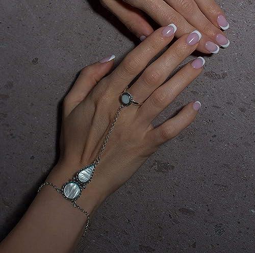Sherlock inspired handcuffs slave bracelet