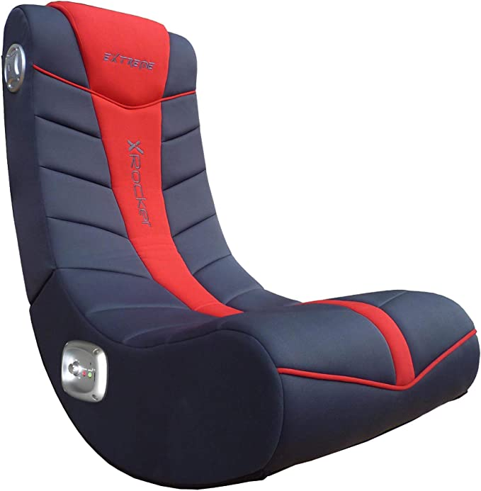 X Rocker Extreme III 2.0 Rocker Chair 5149001 Extreme III 2.0 Gaming Rocker Chair with Audio System Black//Blue