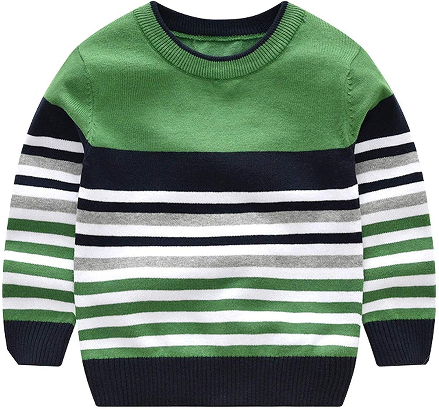 Amazon.com: Oversized-khaki Baby Boy Sweater Children Striped Pullover Boy  Knitted Kids Sweaters Child Winter Clothes: Clothing