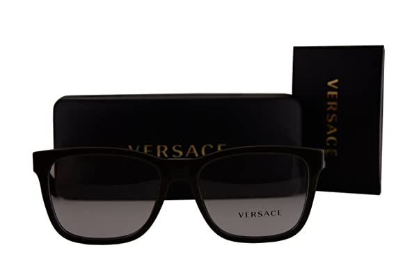 5104bd656a5 Amazon.com  Versace VE3243 Eyeglasses 55-17-145 Military Green w Demo Clear  Lens 5193 VE 3243  Toys   Games