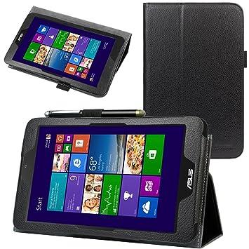 "Evecase 885157923323 8"" Folio Negro funda para tablet - Fundas para tablets (Folio,"