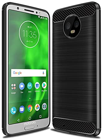 Moto G6 Case, Moto G (6th Generation) Case, Sucnakp TPU Shock Absorption