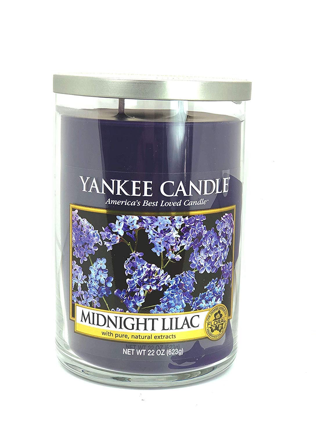 Yankee Candles Midnight Lilac 2-Wick Large Tumbler,Festive Scent