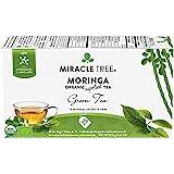 Miracle Tree - 3 Count of Organic Moringa Superfood Tea, 25 Individually Sealed Tea Bags, Green Tea (Keto, Detox, Energy/Immu