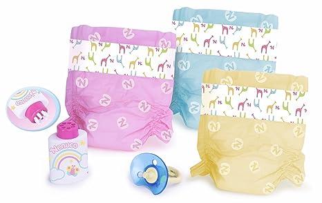 Nenuco - Pañales de Colores (Famosa 700009027)