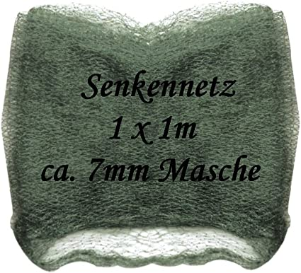 1,00 x 1,00m Senknetz monofil von Jenzi Abma/ße