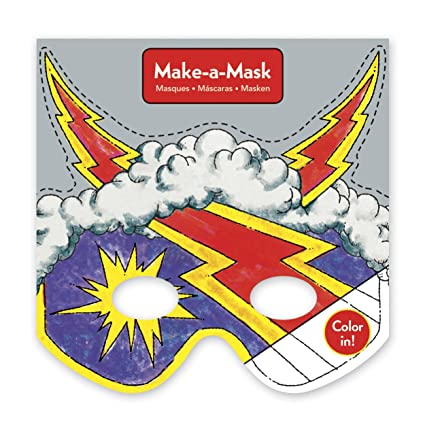 Mudpuppy Superheros Make-a-Mask