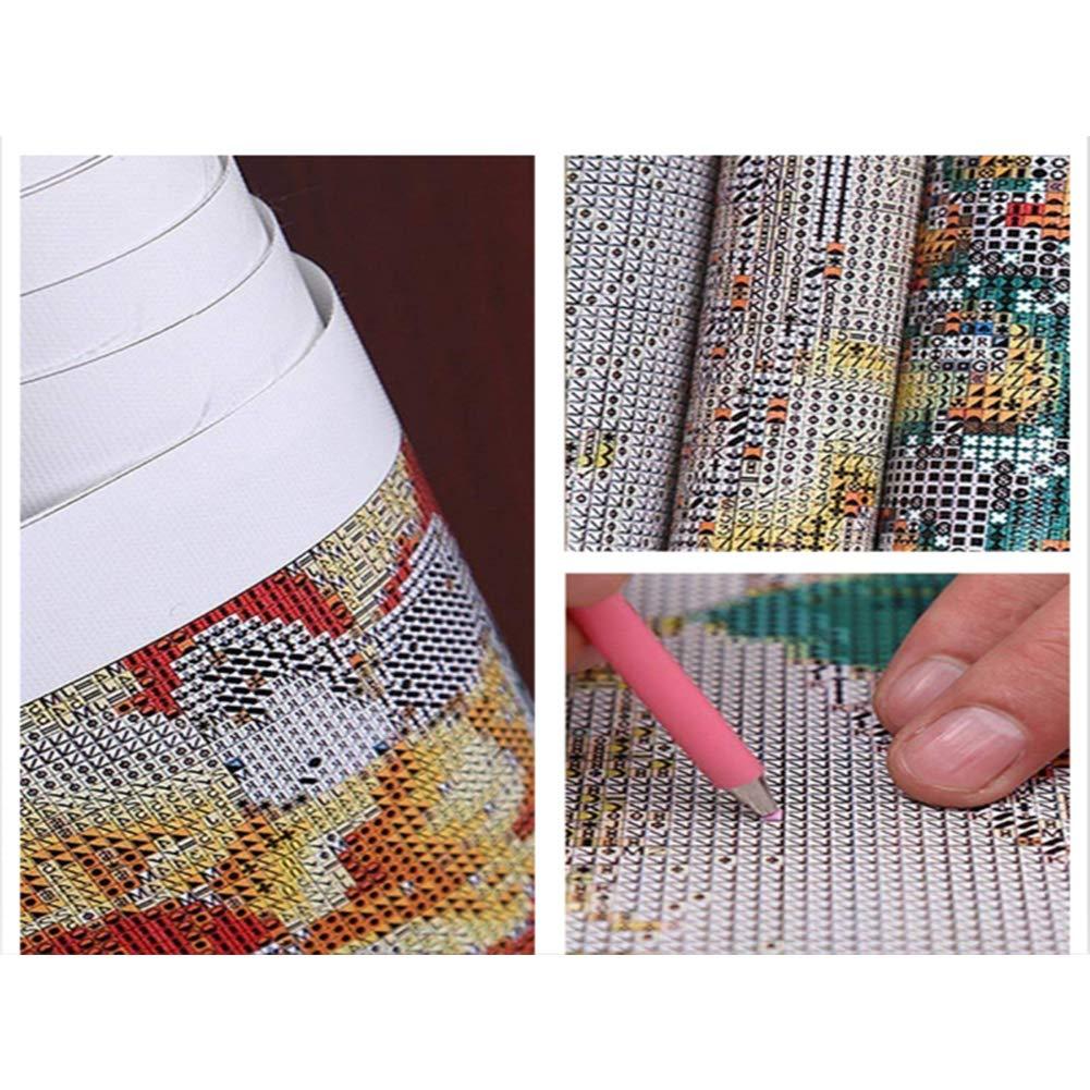 ADVLOOK 5D Diamond Painting by Number Kits DIY K/öln Stadt Bilder Vierkantbohrer Kristall Lindern Angst Und Stress Entspannungszeit Gib Ihm Oder Ihr EIN Geschenk Frameless 40X50Cm