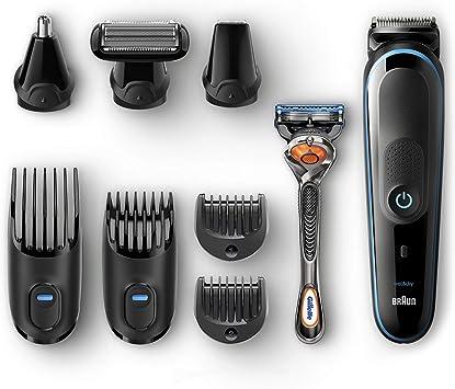 Braun All-in-one MGK5080 depiladora para la barba Mojado y seco ...