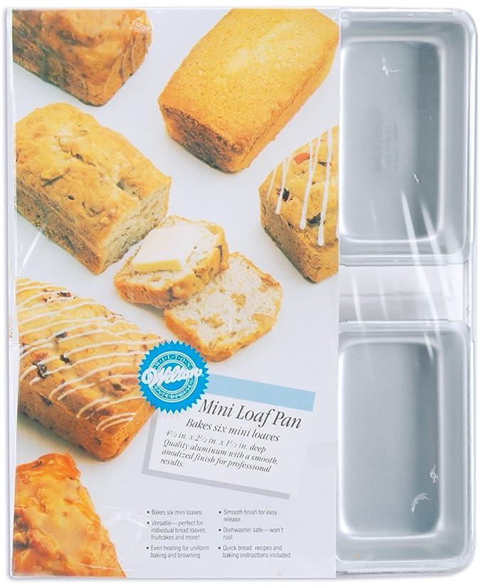 Amazon.com: Wilton Aluminum Mini Loaf Pan: Kitchen & Dining