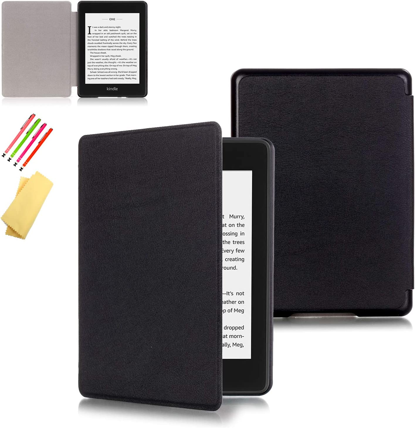 Shell Smart Case Cover Leather For Kindle 8//10th Gen Paperwhite 1//2//3//4