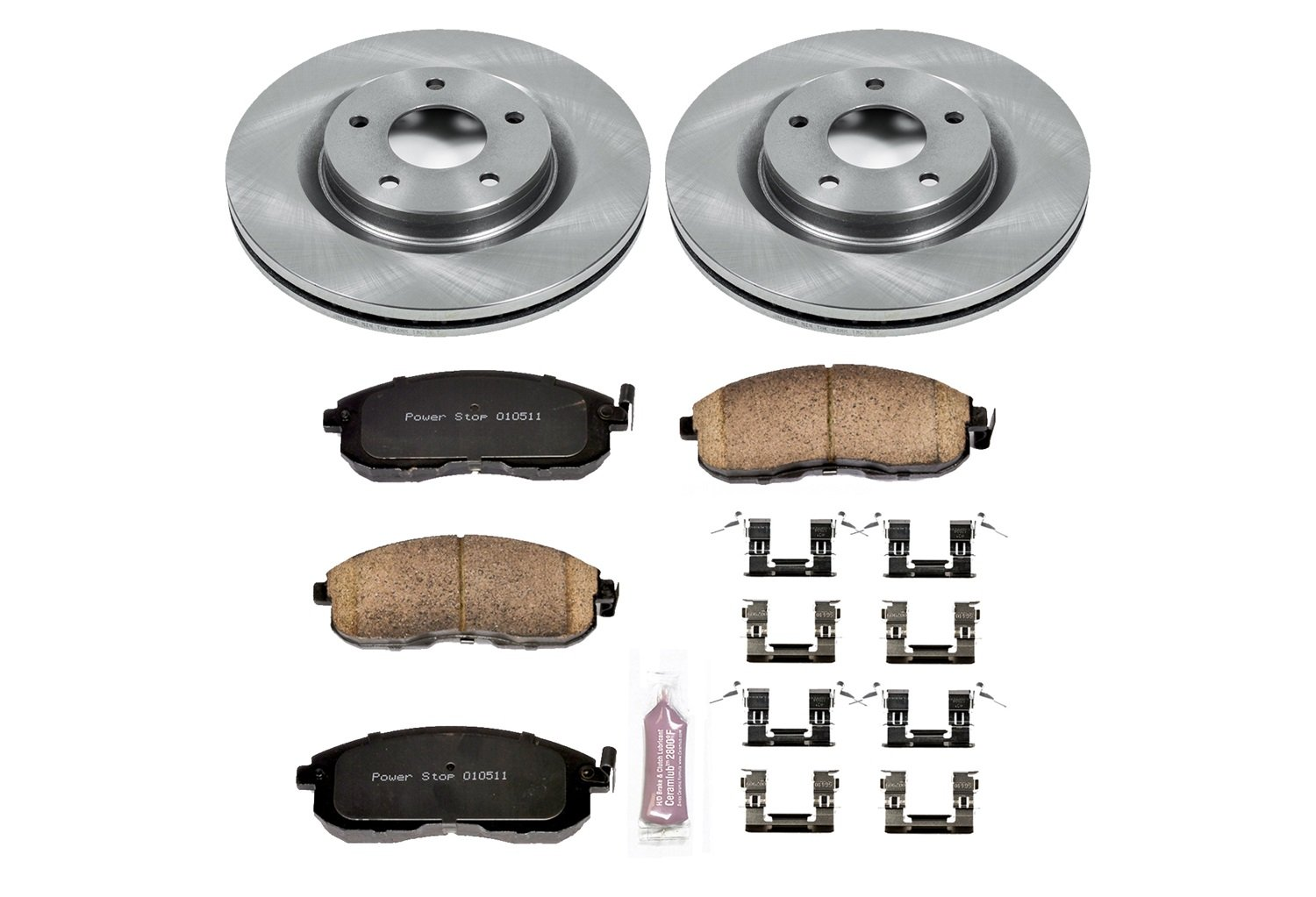 Autospecialty (KOE6094) Daily Driver OE Brake Kit, Front Power Stop