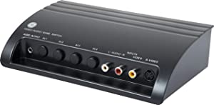GE Pro 4-Device Audio/Video Switch with S-Video, 38807