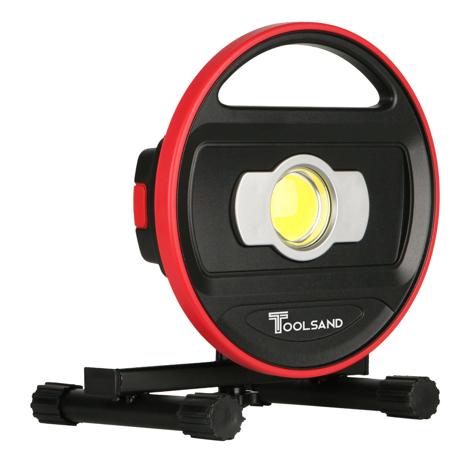 Toolsand Portable Cordless Rechargeable LED Worklight Floodlight, High Power (1200 Lumens)