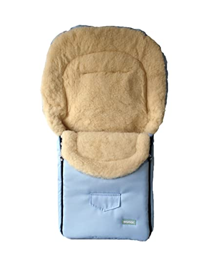 womar - Saco de lana de cordero para cochecito para bebés, de lana ...
