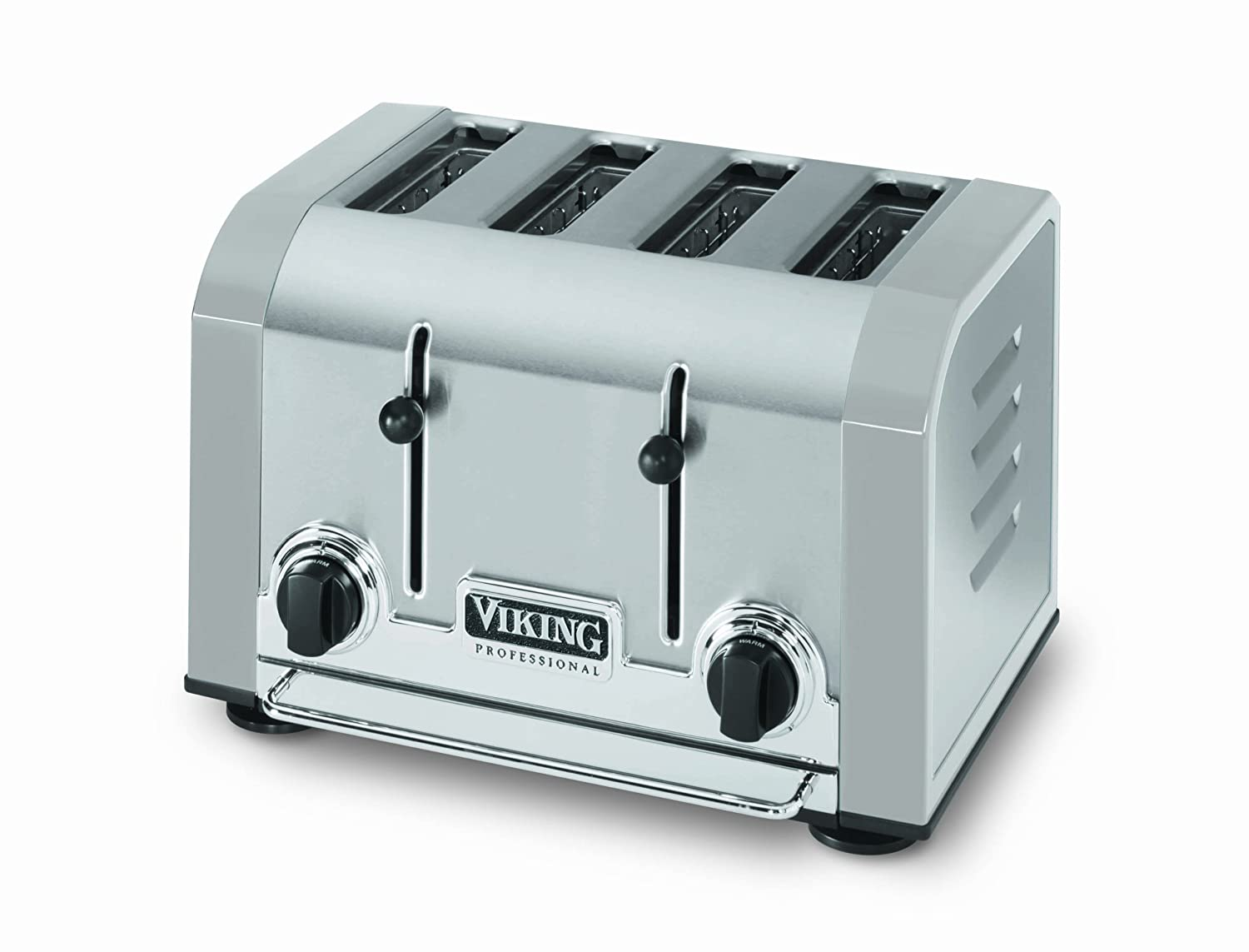 Amazon.com: Viking Professional 4 Slot Toaster, Stainless Gray ...