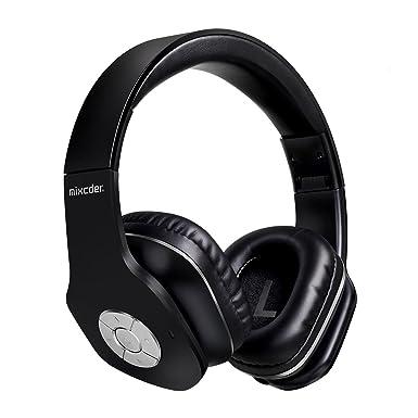 Auriculares inalámbricos de diadema, ligera plegable auriculares Mixcder MSH101 Bluetooth 4.1 con Micrófono Sonido Estéreo