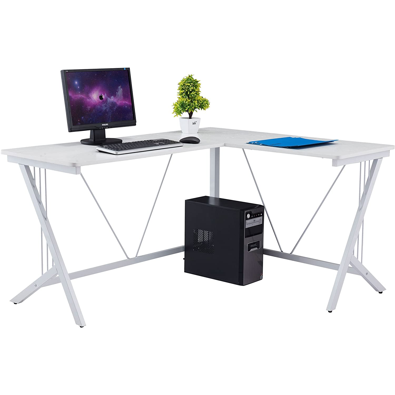 with desk cheap desktop storage computer home small compact