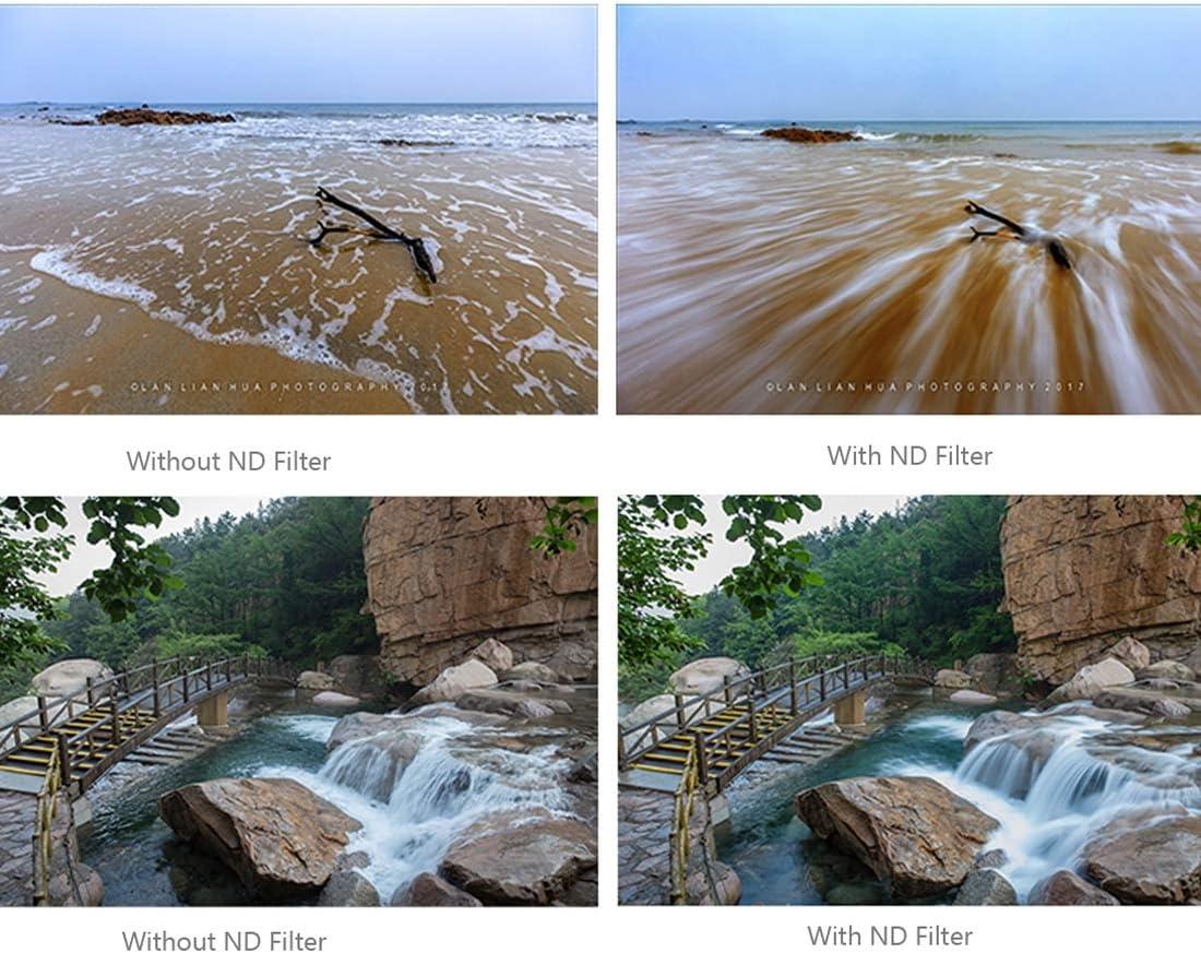 Color : Color2 MEETBM ZIMO,HD Drone Grey ND Lens Filter for DJI Phantom 4 Pro