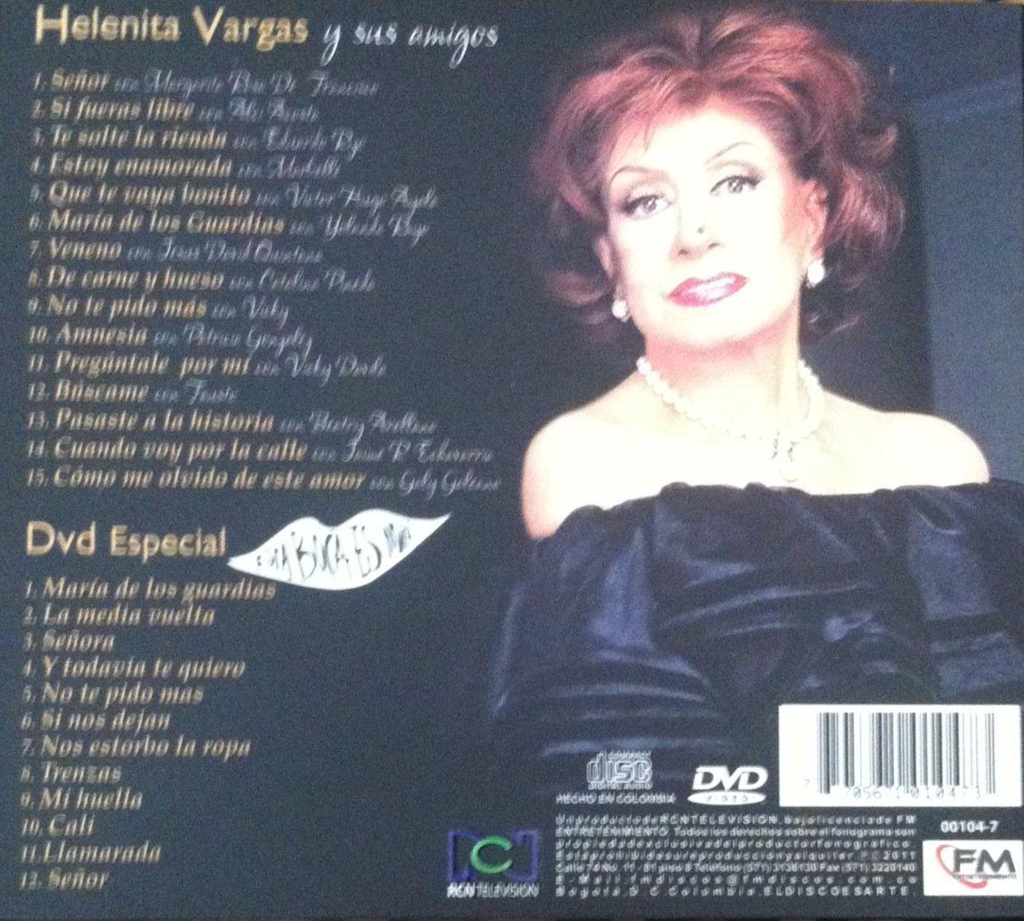 HELENITA VARGAS - HELENITA VARGAS Y SUS AMIGOS CD & DVD - Amazon.com Music