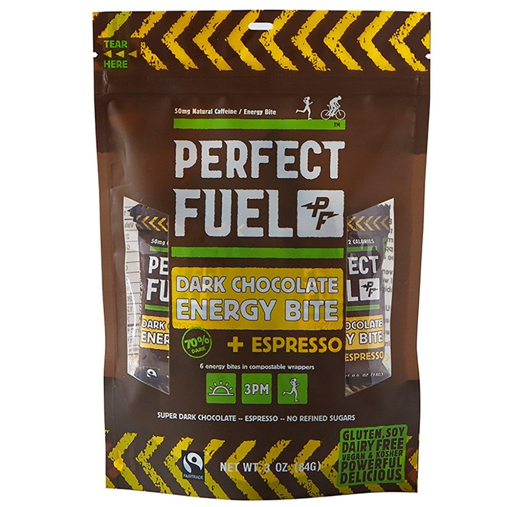 Perfect Fuel Chocolate Dark Chocolate Energy Bite, Espresso, 3 Ounce