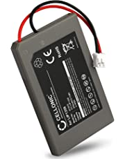Cellonic® Qualitäts Akku kompatibel mit Sony PlayStation 3 Controller, PS3 Dualshock (Sony CECHZC2E) - LIP1359 (570mAh) Ersatzakku Batterie