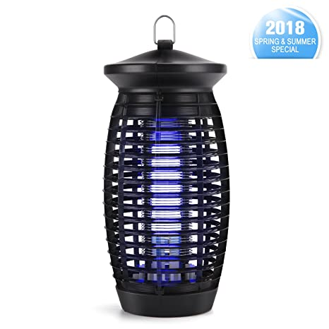 Charming Bug Zapper,Electric Indoor Mosquito Zapper Fly Trap Insect Killer With 120V  UV Light Bulb
