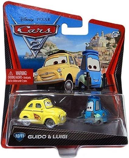 Amazon Com Disney Pixars Cars 2 Movie 155 Die Cast Car 10 11