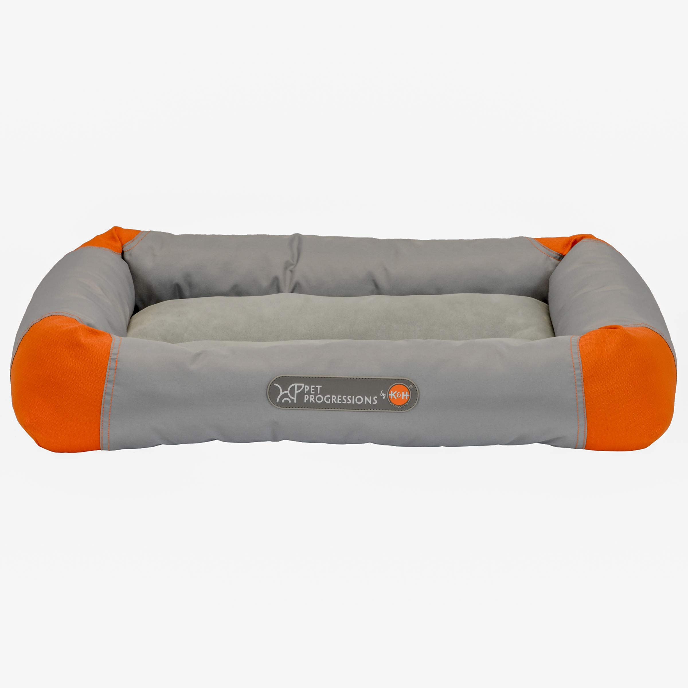 Pet Progressions by K&H Waterproof Puppy Bolster Pet Pad Small Grey - Piddle Proof, Stain & Odor Resistant, and Tear Resistant for Puppies & Adult Dogs by Pet Progressions (Image #1)