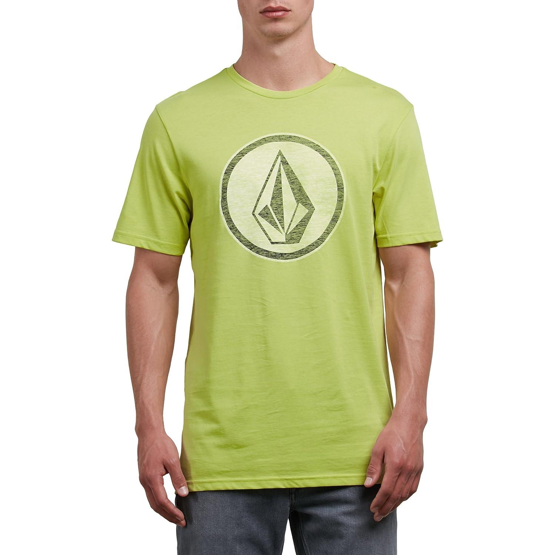 (ボルコム) VOLCOM < メンズ > 半袖 プリント Tシャツ (モダンフィット) [ A5011801/Classic Stone S/S Tee ] おしゃれ ロゴ B071P8G73N US S-(日本サイズS相当) SHL_イエロー SHL_イエロー US S-(日本サイズS相当)