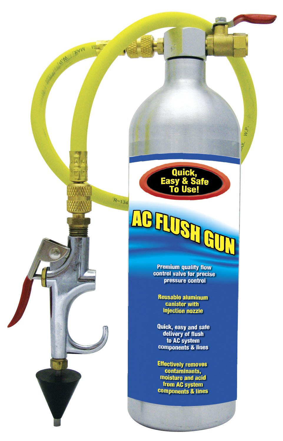 TSI Supercool 27361 A/C Flush Gun with Flow Control Valve and Improved Spray Head