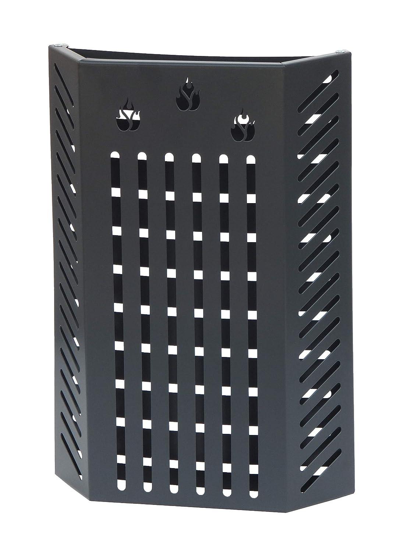 KALAMI' 2.4: Protezione Salvaustioni per Stufa a pellet e a legna, proteggi bimbo, protezione da ustioni e scottature, doppio schermo di sicurezza, disegnato da Firestyle, 100% Made in Italy. Gavemo