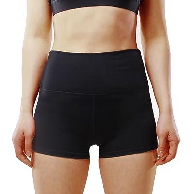 BASIC HOUSE Women's Yoga Shorts   .com