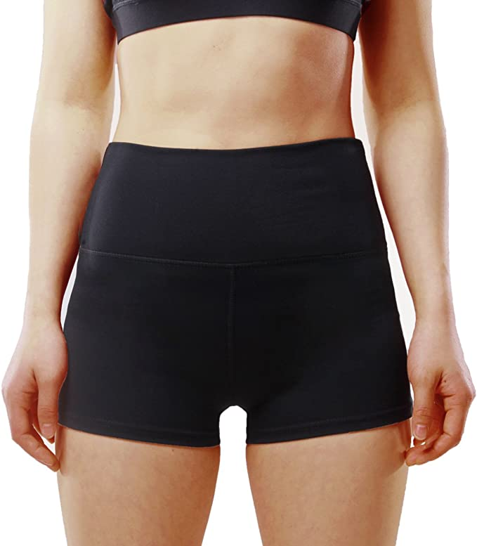 BASIC HOUSE Womens Yoga Shorts