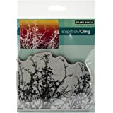 Penny Black Cling Rubber Stamp 5-inch x 7.5-inch Sheet-Etched Branches