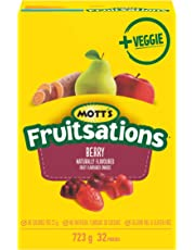 Mott's Fruitsations Veggie Gluten Free Berry, 32-Count, 723 Gram