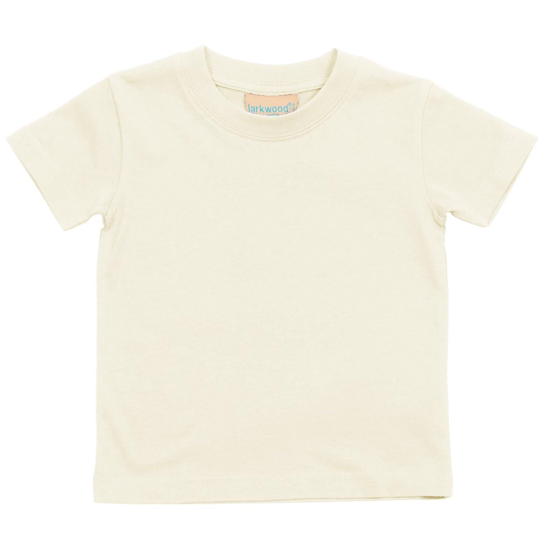 Larkwood Baby/Childrens Crew Neck T-Shirt / Schoolwear (24-36) (Black)